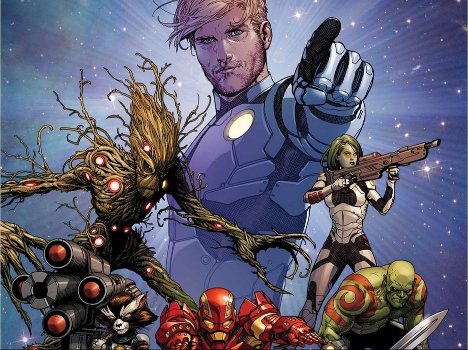 GUARDIANS OF THE GALAXY action adventure sci-fi marvel futuristic (42) wallpaper