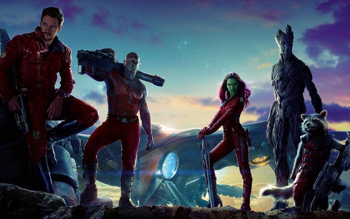 GUARDIANS OF THE GALAXY action adventure sci-fi marvel futuristic (44) wallpaper