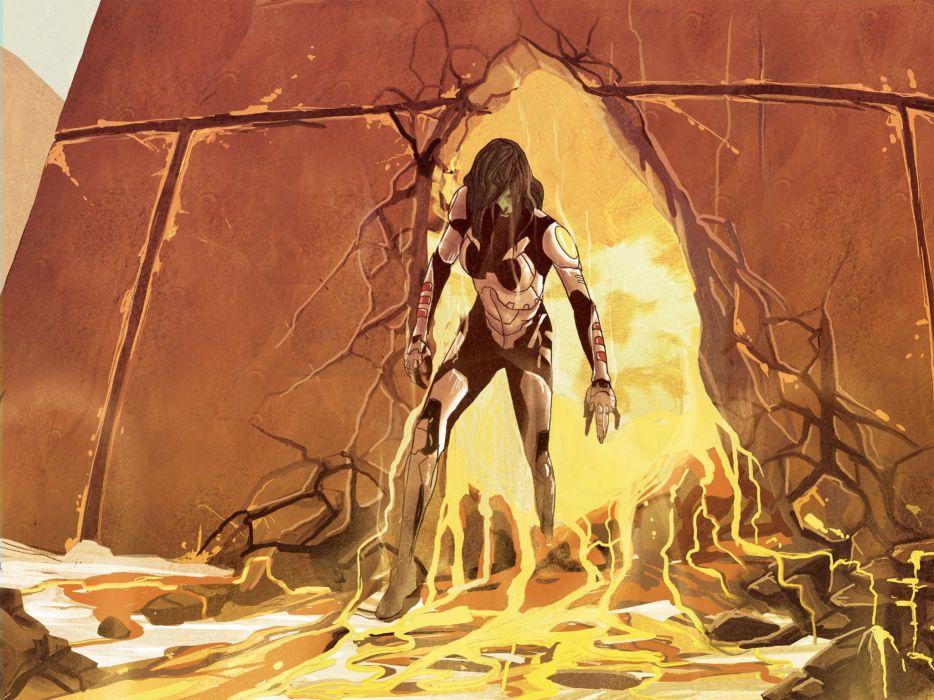 GUARDIANS OF THE GALAXY action adventure sci-fi marvel futuristic (61) wallpaper