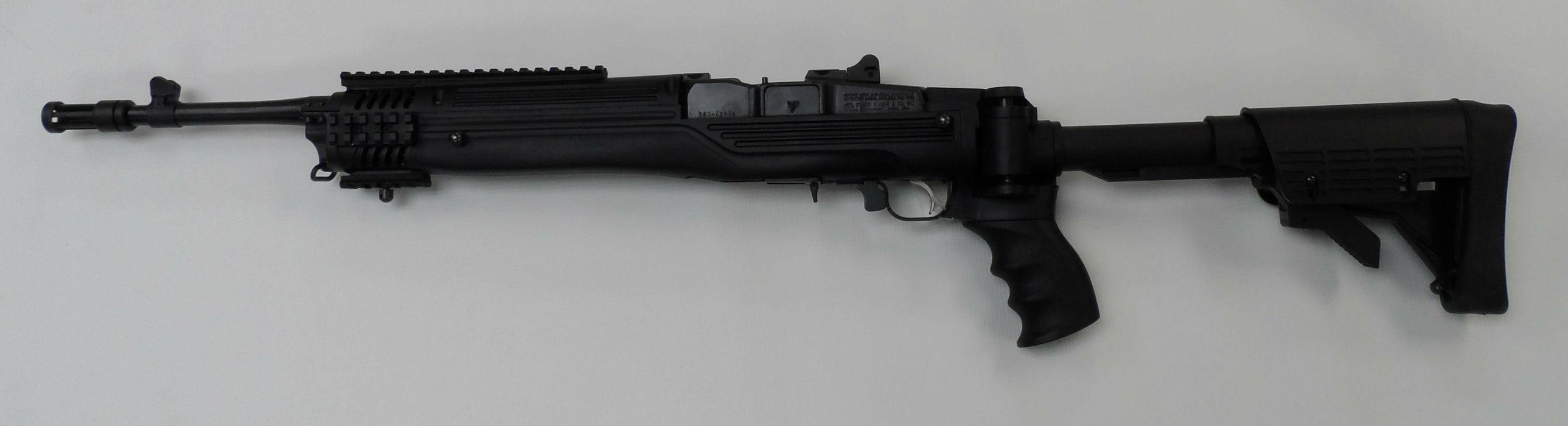 MINI-14 assault rifle weapon gun military mini (15) wallpaper