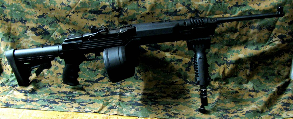 MINI-14 assault rifle weapon gun military mini (22) wallpaper