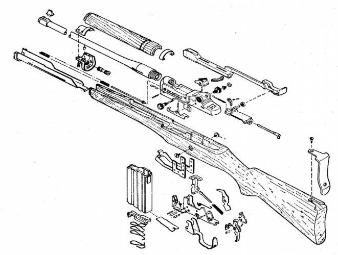 MINI-14 assault rifle weapon gun military mini (24) wallpaper