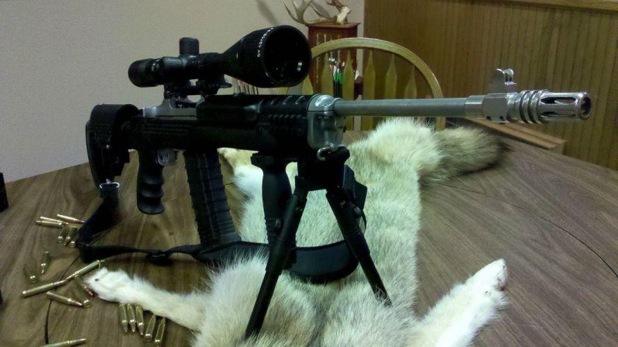MINI-14 assault rifle weapon gun military mini (31) wallpaper