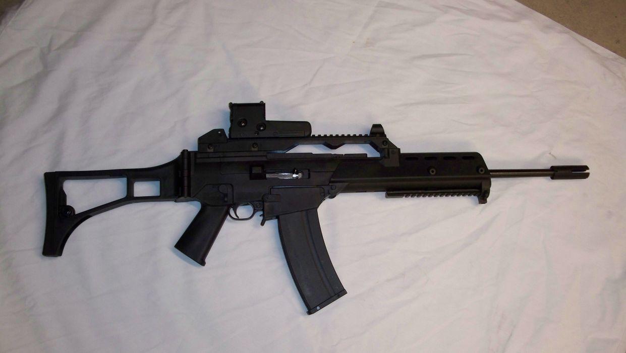 MINI-14 assault rifle weapon gun military mini (33)_JPG wallpaper