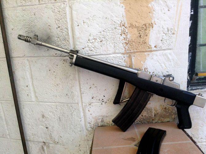 MINI-14 assault rifle weapon gun military mini (47) wallpaper