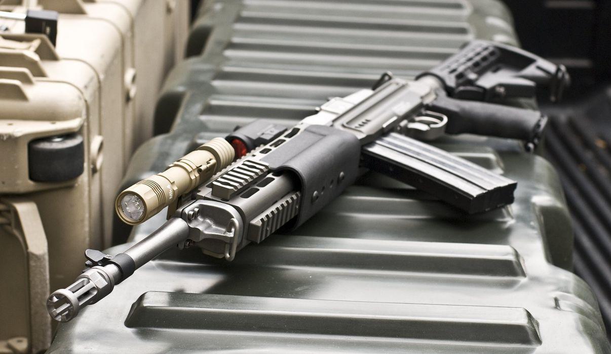 MINI-14 assault rifle weapon gun military mini (43) wallpaper