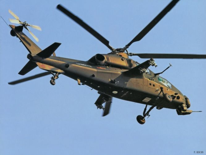 Z-10 attack helicopter china aircraft military (1) wallpaper