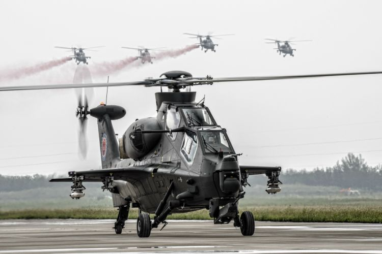 Z-10 attack helicopter china aircraft military (5) wallpaper