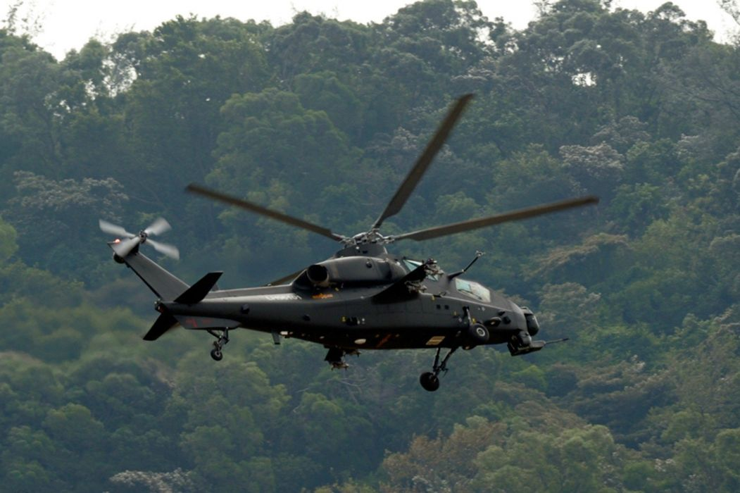 Z-10 attack helicopter china aircraft military (4) wallpaper