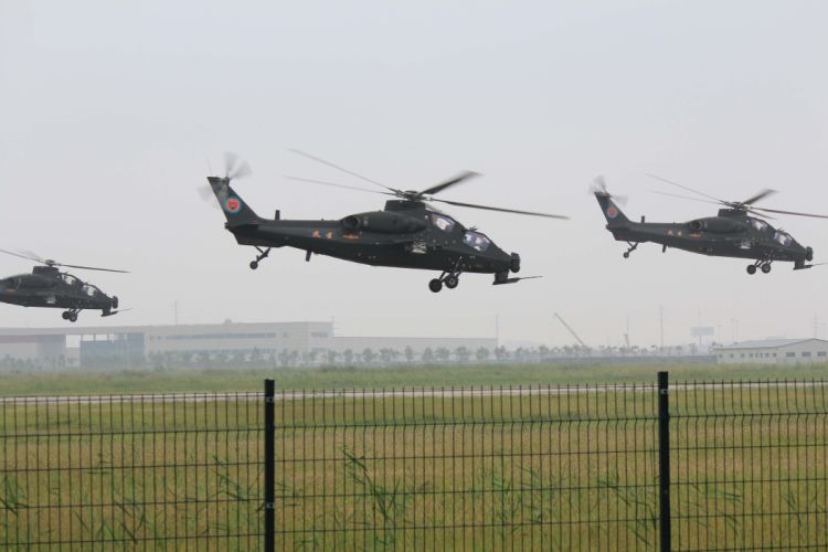 Z-10 attack helicopter china aircraft military (7) wallpaper