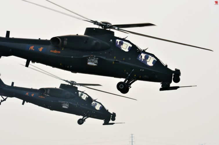 Z-10 attack helicopter china aircraft military (8) wallpaper