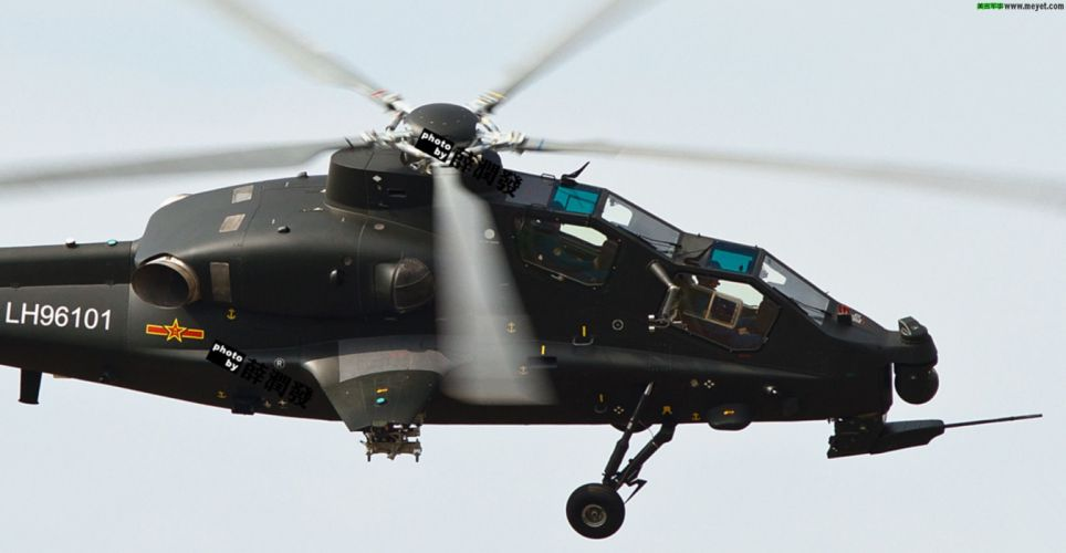 Z-10 attack helicopter china aircraft military (10) wallpaper
