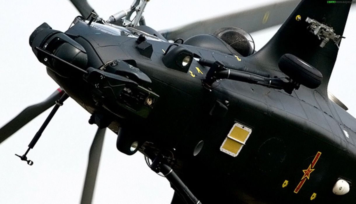 Z-10 attack helicopter china aircraft military (11) wallpaper