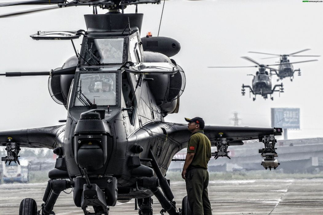 Z-10 attack helicopter china aircraft military (13) wallpaper