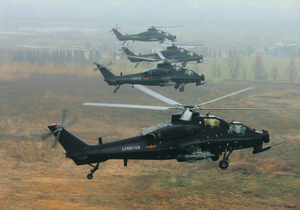 Z-10 attack helicopter china aircraft military (17) wallpaper