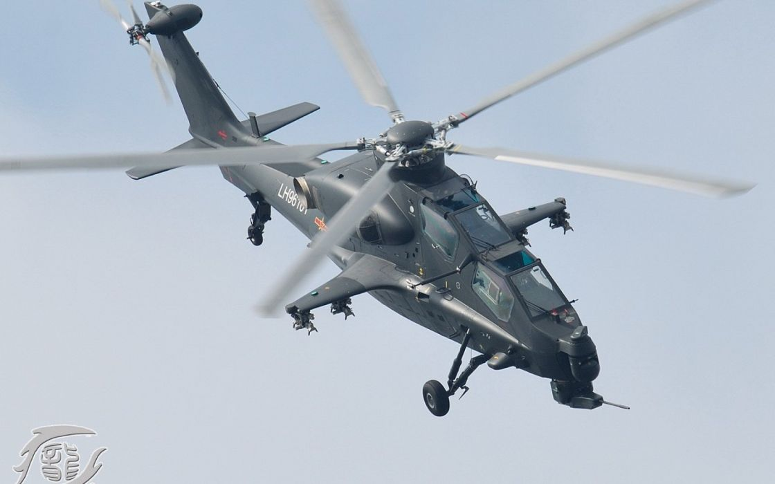 Z-10 attack helicopter china aircraft military (22) wallpaper