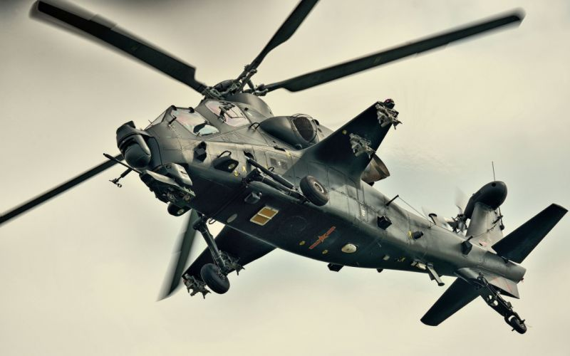 Z-10 attack helicopter china aircraft military (24) wallpaper