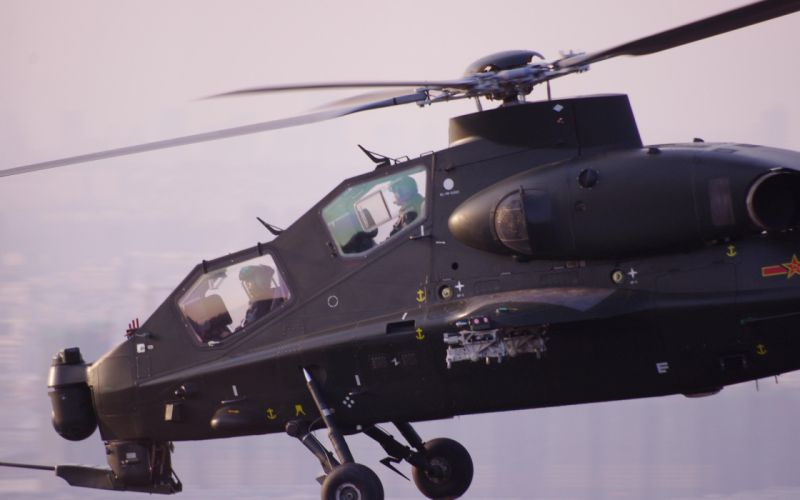Z-10 attack helicopter china aircraft military (29) wallpaper