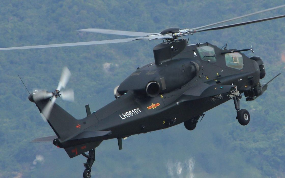 Z-10 attack helicopter china aircraft military (28) wallpaper