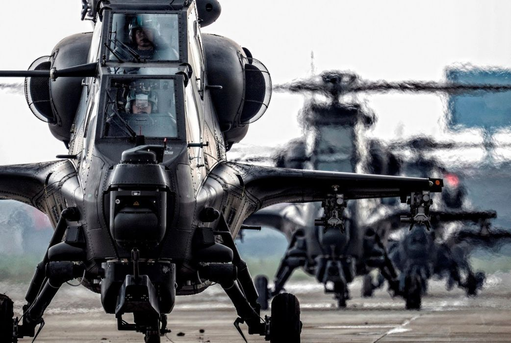 Z-10 attack helicopter china aircraft military (36) wallpaper