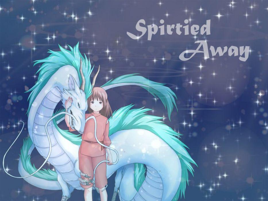 Dragon Haku Ogino Chihiro Spirited Away Wallpaper 1600x1200 367712 Wallpaperup