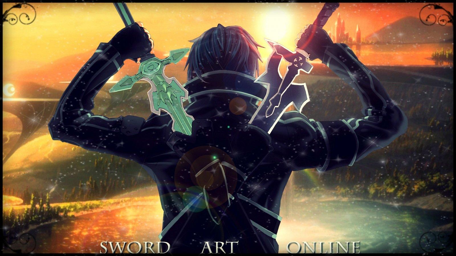 kirigaya kazuto sword art online tagme wallpaper 1600x900 367835