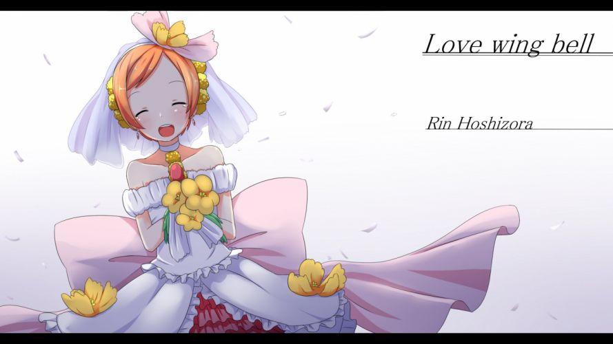 Love Live! Hoshizora Rin f wallpaper