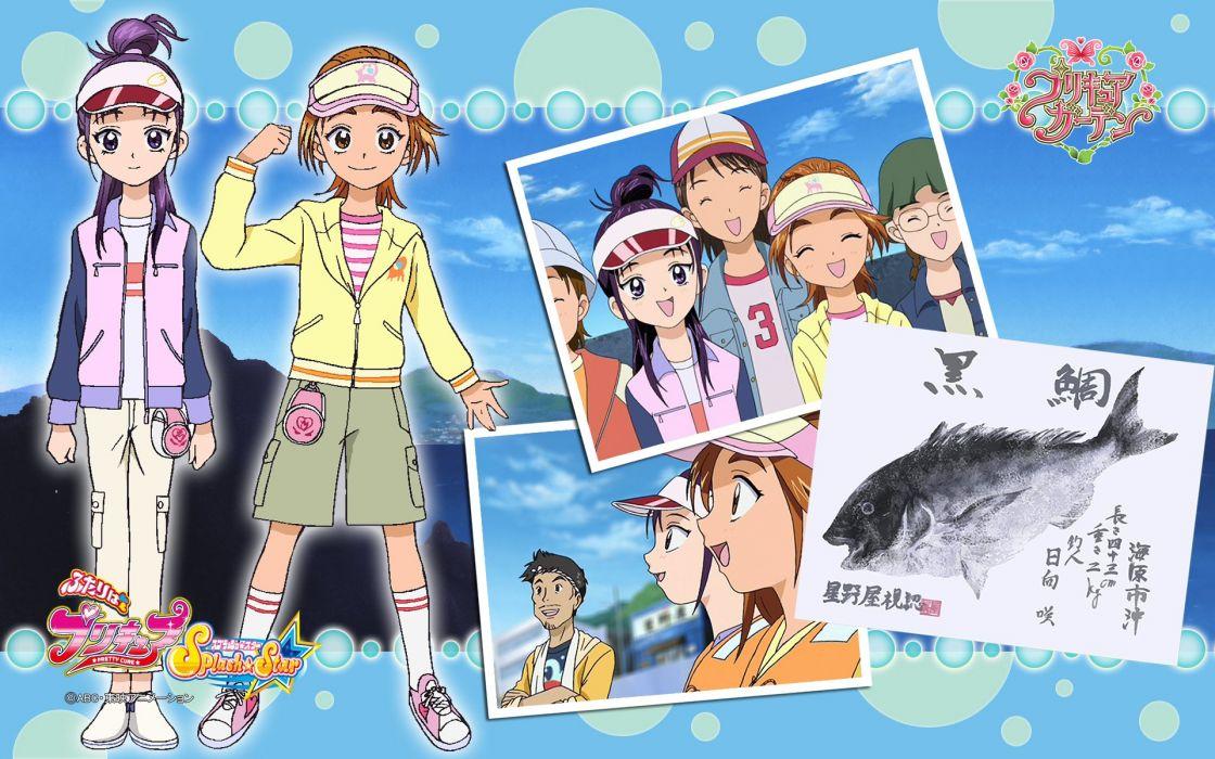 Pretty Cure Splash Star    f wallpaper