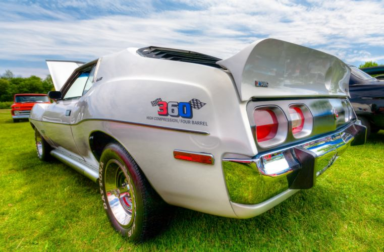 1973 AMC Javelin AMX HDR wallpaper