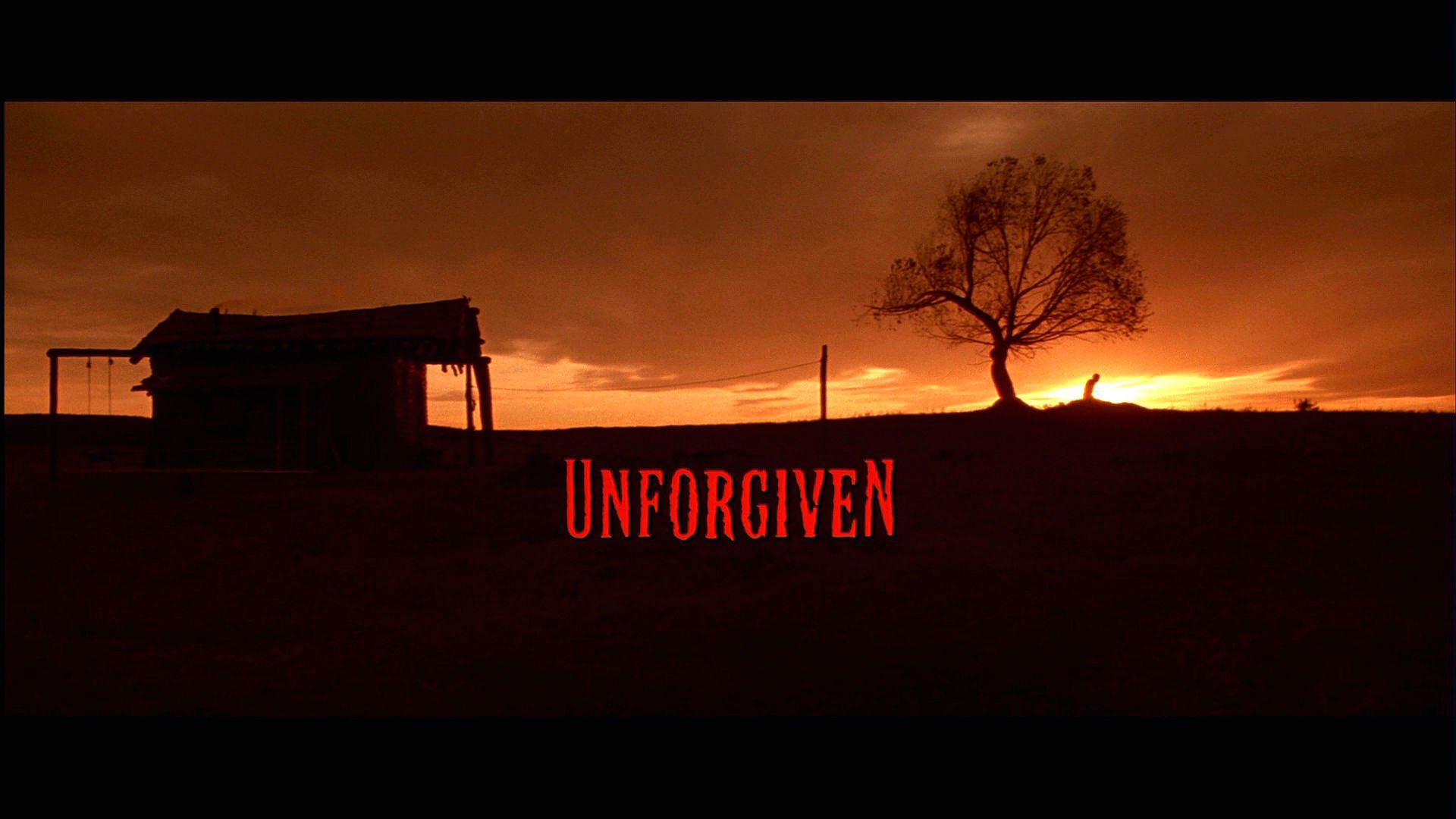 Unforgiven Poster UNFORGIVEN western clint