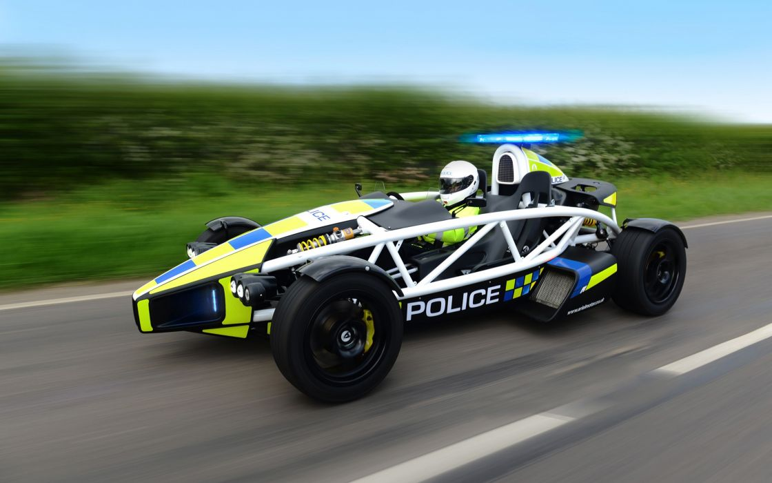 2014 Ariel Atom PL1 Police Car Sport Supercar 4000x2500 (1) wallpaper