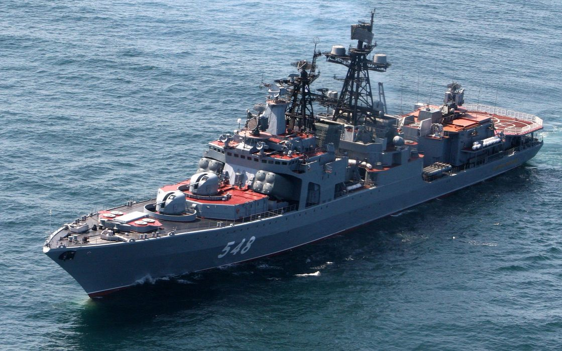 Russian Red Star Russia Navy Ship Warship War Military Ocean wallpaper