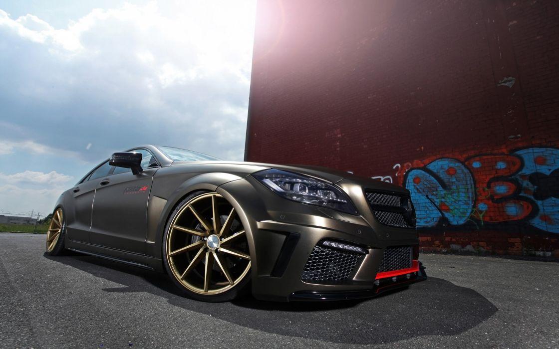 2014 fostla tunning car supercar Germany Mercedes-Benz-CLS-350 CDI 4000x2500 (3) wallpaper