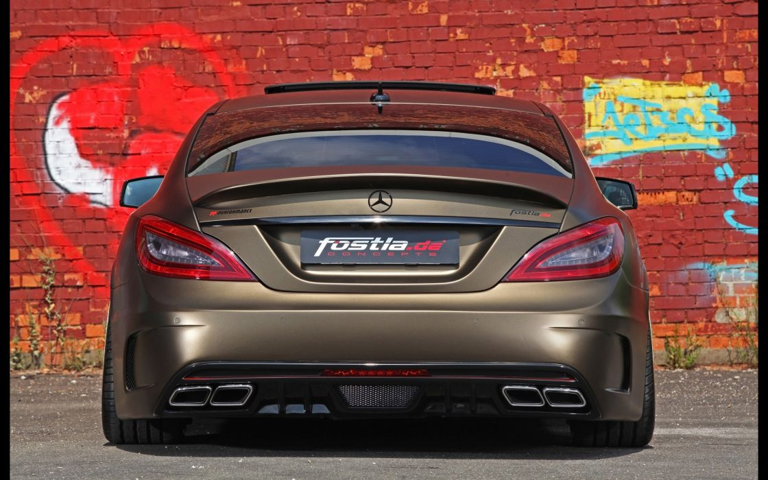 2014 fostla tunning car supercar Germany Mercedes-Benz-CLS-350 CDI 4000x2500 (1) wallpaper