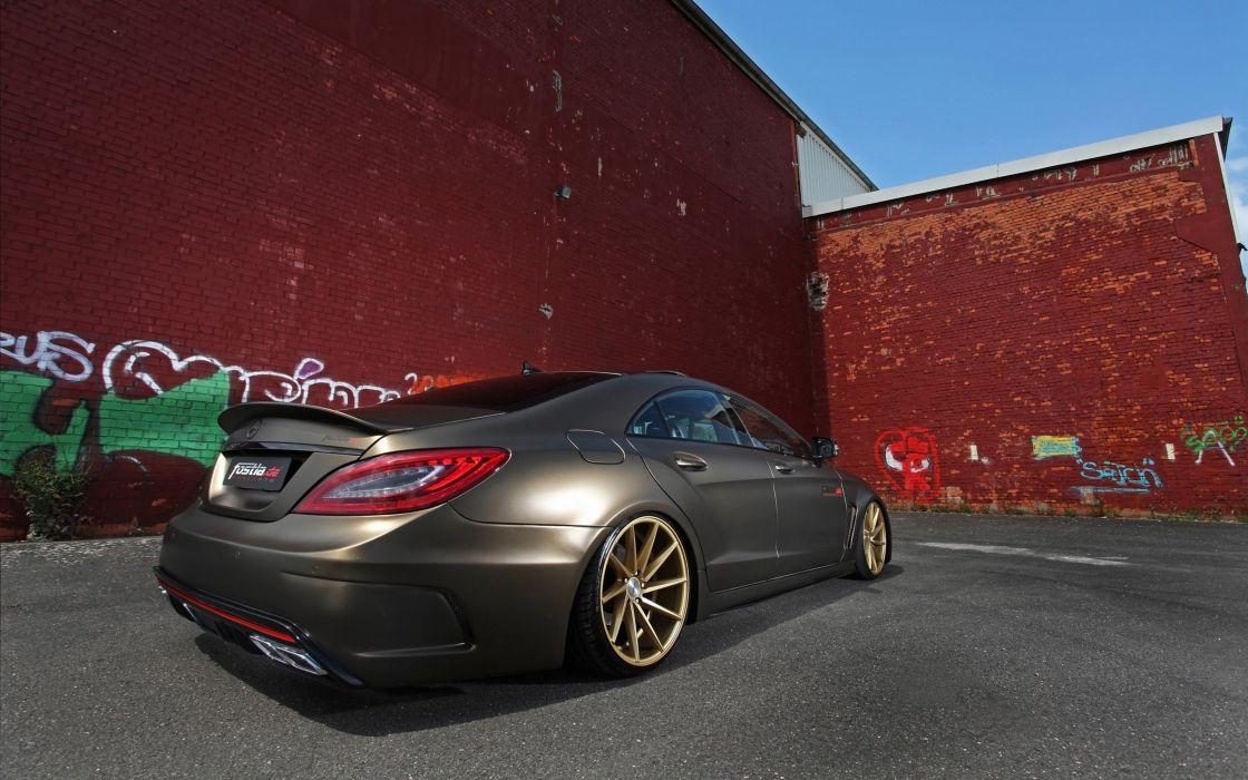 2014 fostla tunning car supercar Germany Mercedes-Benz-CLS-350 CDI 4000x2500 (2) wallpaper