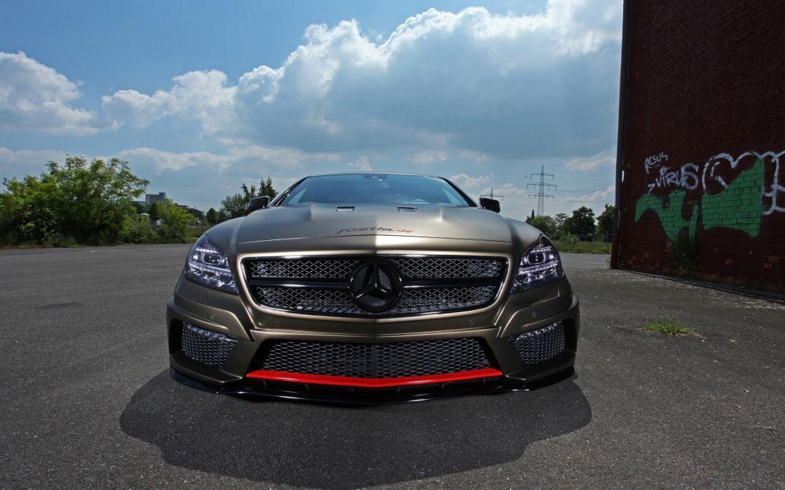 2014 fostla tunning car supercar Germany Mercedes-Benz-CLS-350 CDI 4000x2500 (4) wallpaper