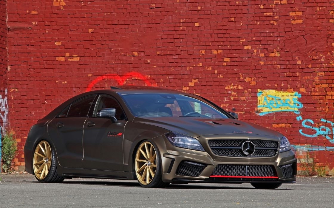 2014 fostla tunning car supercar Germany Mercedes-Benz-CLS-350 CDI 4000x2500 (6) wallpaper