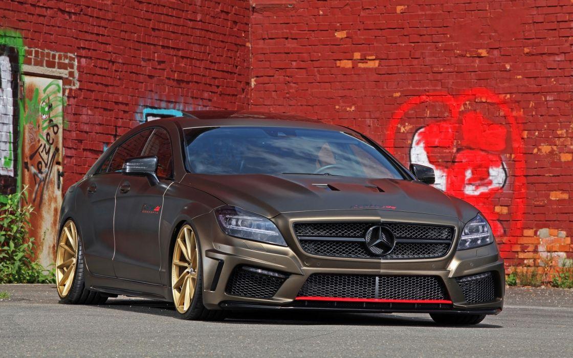2014 fostla tunning car supercar Germany Mercedes-Benz-CLS-350 CDI 4000x2500 (5) wallpaper