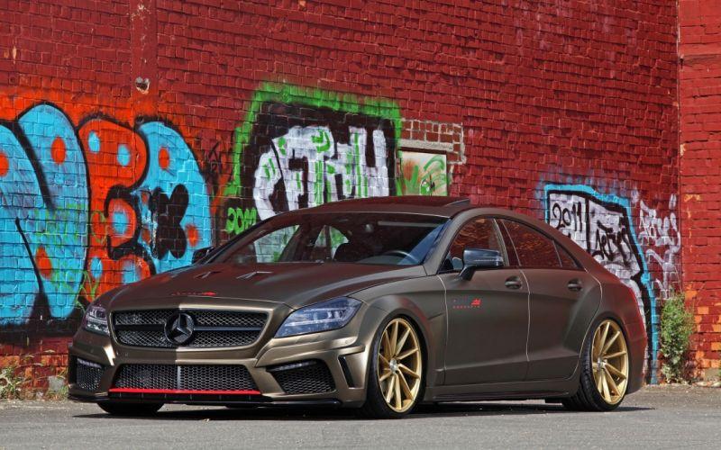 2014 fostla tunning car supercar Germany Mercedes-Benz-CLS-350 CDI 4000x2500 (9) wallpaper