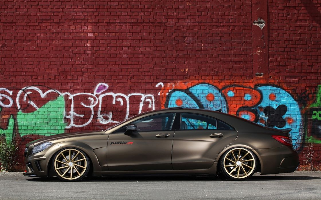 2014 fostla tunning car supercar Germany Mercedes-Benz-CLS-350 CDI 4000x2500 (8) wallpaper