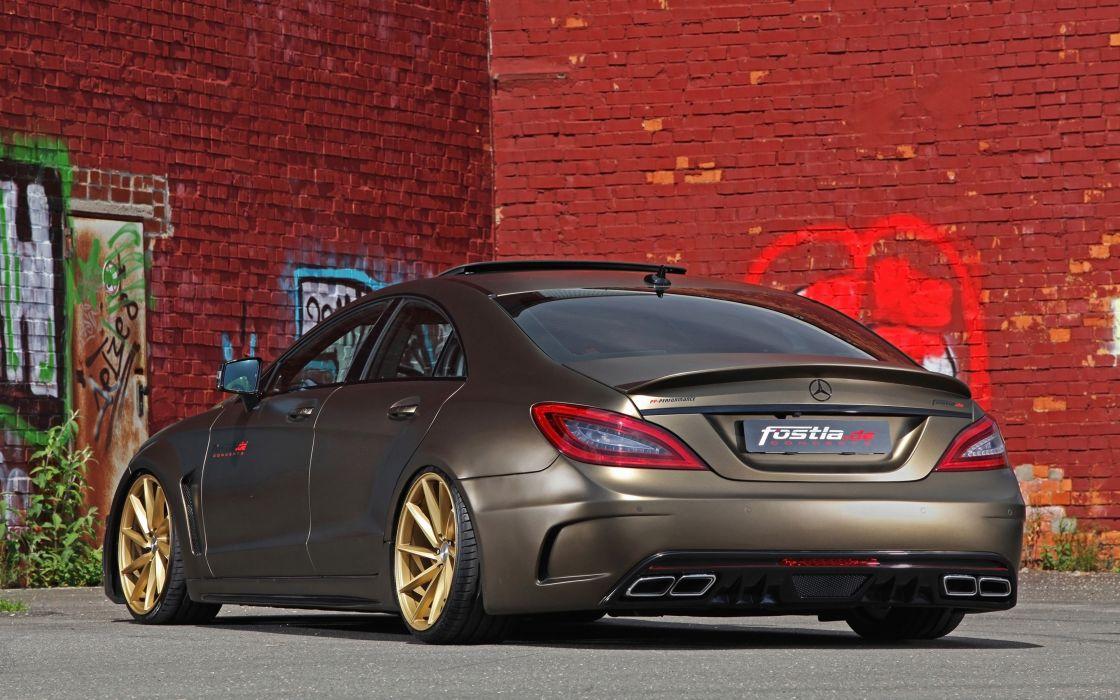2014 fostla tunning car supercar Germany Mercedes-Benz-CLS-350 CDI 4000x2500 (10) wallpaper