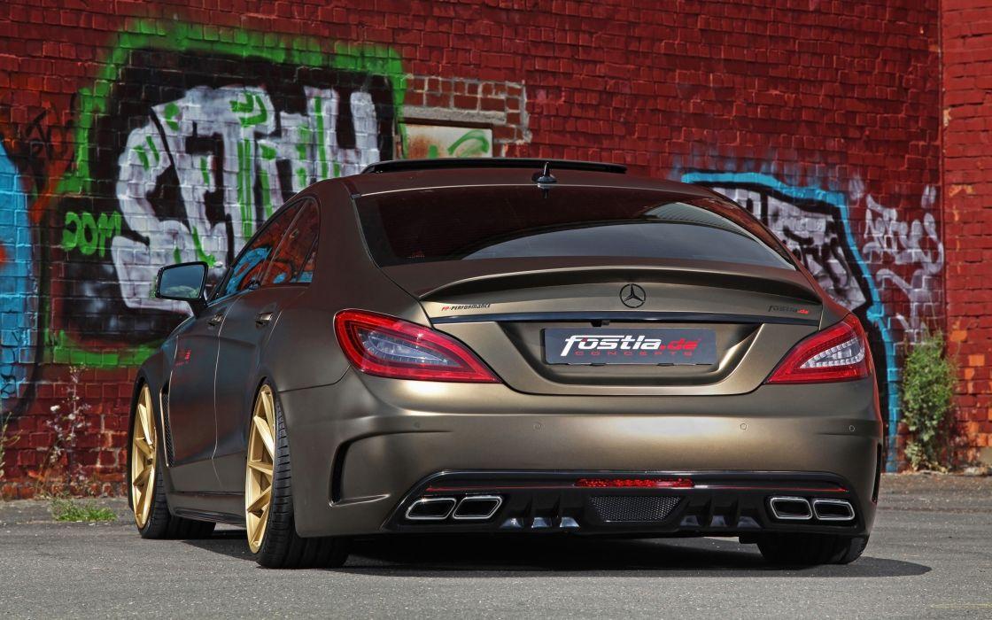 2014 fostla tunning car supercar Germany Mercedes-Benz-CLS-350 CDI 4000x2500 (11) wallpaper