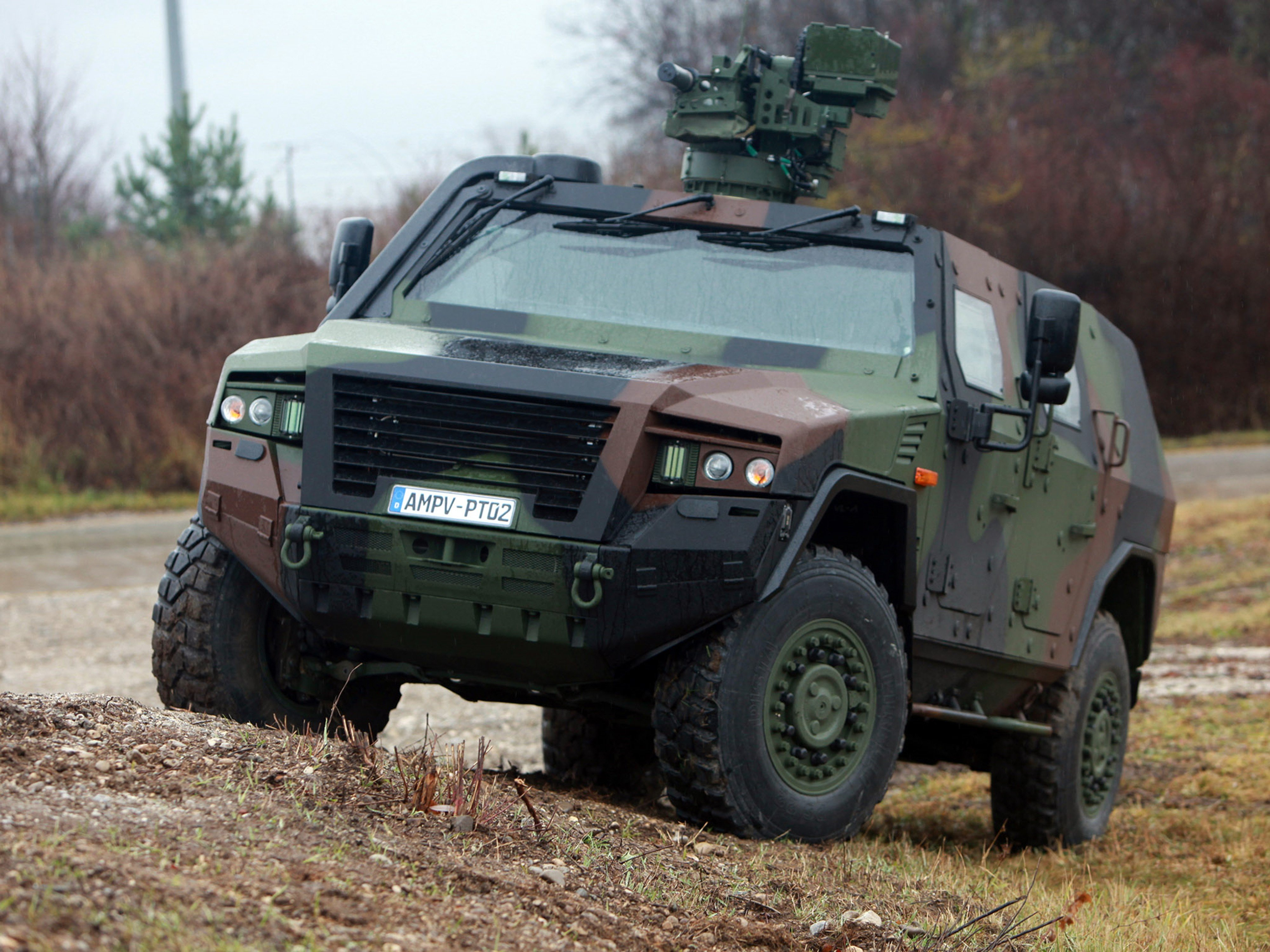 Germany Nato Combat Vehicle Armored War Military Army