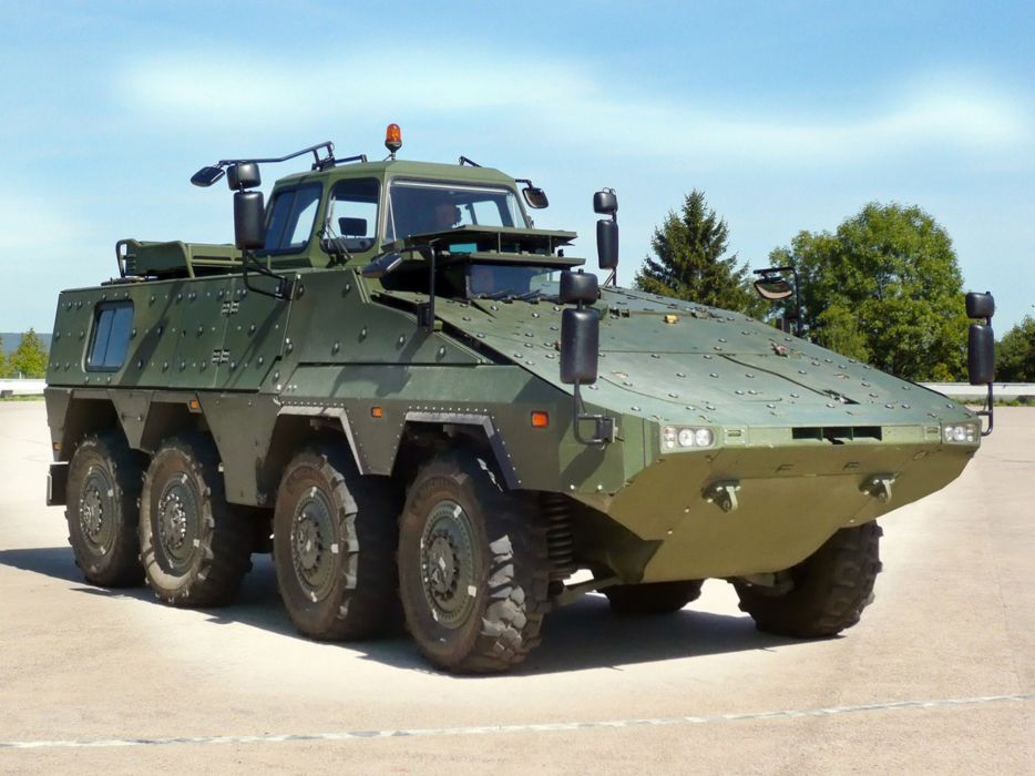 Germany NATO combat vehicle armored war military army 4000x3000 kmw boxer 8x8 driver training 2010 wallpaper