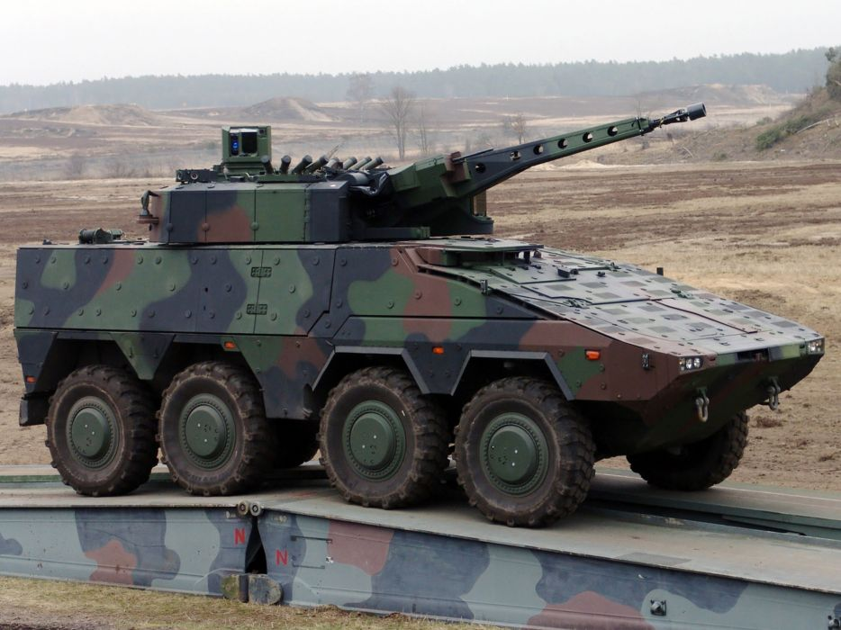 Germany NATO combat vehicle armored war military army kmw boxer 8x8-with lance turret 2010 4000x3000  wallpaper