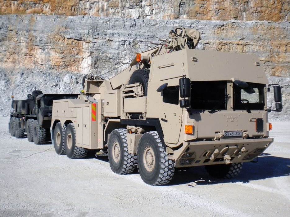 Germany NATO combat vehicle armored war military army 4000x3000 kmw man sx-military armoured-cab truck 2004 wallpaper