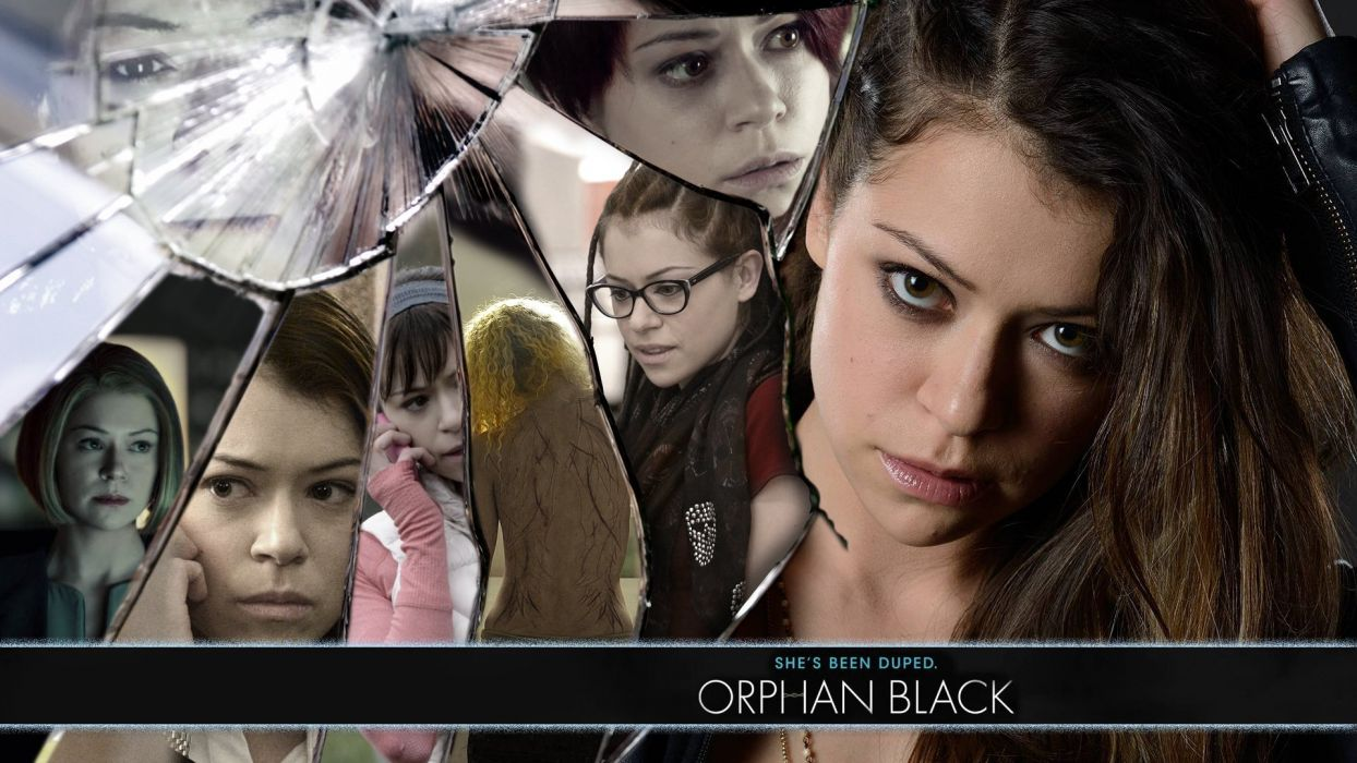 ORPHAN BLACK sci-fi drama thriller series action (17) wallpaper