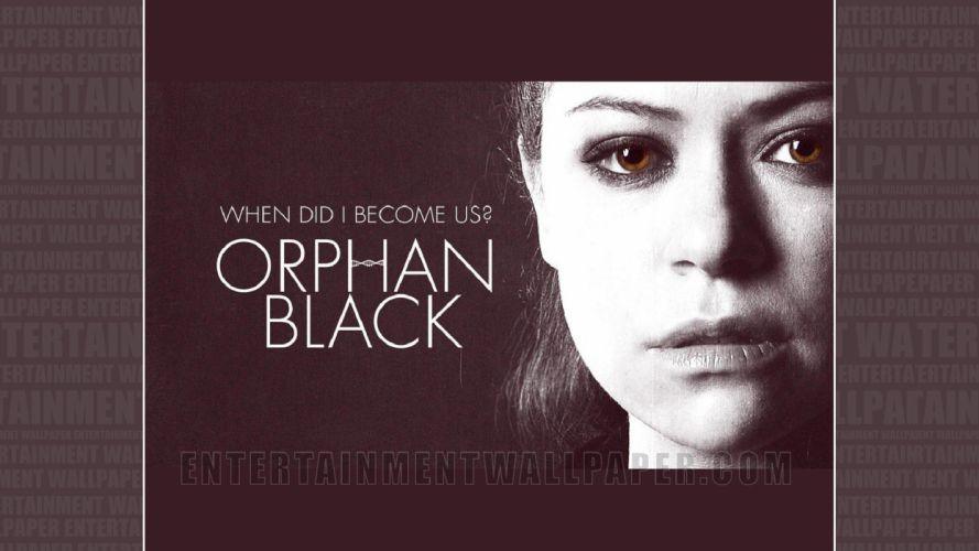 ORPHAN BLACK sci-fi drama thriller series action (74) wallpaper