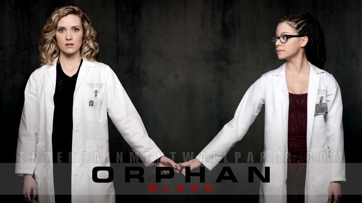 ORPHAN BLACK sci-fi drama thriller series action (75) wallpaper