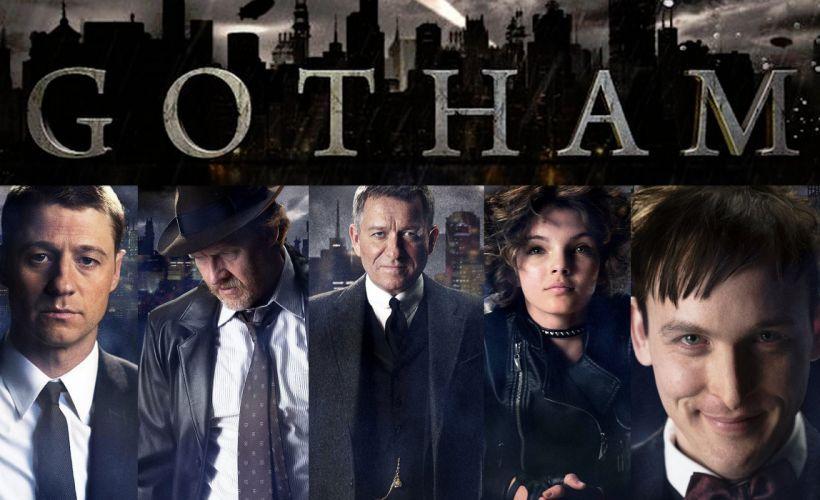 GOTHAM series batman action superhero d-c dc-comics thriller drama comics (1) wallpaper